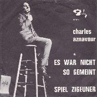 Cover Charles Aznavour - Es war nicht so gemeint