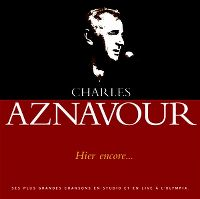 Cover Charles Aznavour - Hier encore...