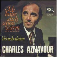 Cover Charles Aznavour - Ich halte dich schön warm