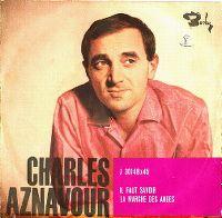 Cover Charles Aznavour - Il faut savoir