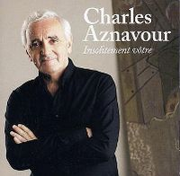 Cover Charles Aznavour - Insolitement vôtre