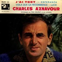 Cover Charles Aznavour - J'ai tort
