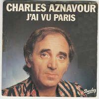 Cover Charles Aznavour - J'ai vu Paris