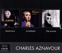 Cover Charles Aznavour - Jazznavour / La Bohème / Hier encore