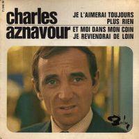Cover Charles Aznavour - Je l'aimerai toujours