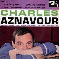 Cover Charles Aznavour - Je m'voyais déjà