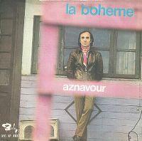 Cover Charles Aznavour - La Bohème