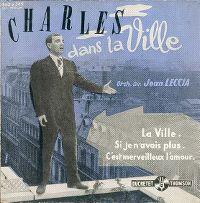 Cover Charles Aznavour - La ville