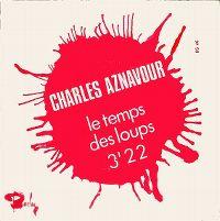 Cover Charles Aznavour - Le temps des loups