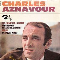 Cover Charles Aznavour - Les enfants de la guerre