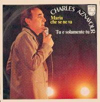 Cover Charles Aznavour - Maria che se ne va