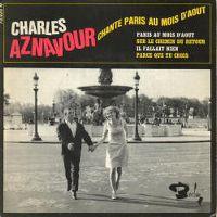 Cover Charles Aznavour - Paris au mois d'août