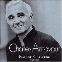 Cover Charles Aznavour - Platinum Collection