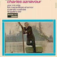 Cover Charles Aznavour - Por mi vida