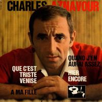 Cover Charles Aznavour - Que c'est triste Venise