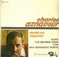Cover Charles Aznavour - Quien