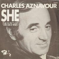 Cover Charles Aznavour - She