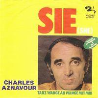 Cover Charles Aznavour - Sie