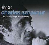 Cover Charles Aznavour - Simply Charles Aznavour