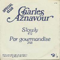 Cover Charles Aznavour - Slowly