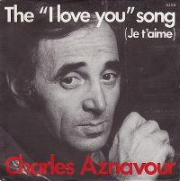 Cover Charles Aznavour - The 'I Love You' Song