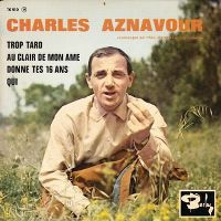 Cover Charles Aznavour - Trop tard