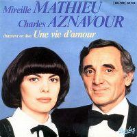 Cover Charles Aznavour & Mireille Mathieu - Une vie d'amour
