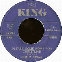 Cover Charles Brown - Please Come Home For Christmas