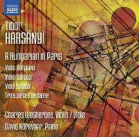 Cover Charles Wetherbee / David Korevaar - Tibor Harsányi