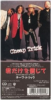 Cover Cheap Trick - Never Run Out Of Love