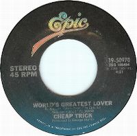 Cover Cheap Trick - World's Greatest Lover