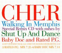 Cover Cher - Walking In Memphis