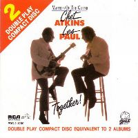 Cover Chet Atkins with Les Paul - Masters Of The Guitar - Together