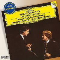 Cover Chicago Symphony Orchestra / Shlomo Mintz / Claudio Abbado - Serge Prokofiev: The Violin Concertos
