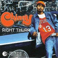 Cover Chingy - Right Thurr