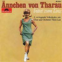 Cover Chor und Orchester Hans Last - Ännchen von Tharau / Es zogen drei Burschen / Am Brunnen vor dem Tore