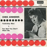 Cover Chris Andrews - Yesterday Man