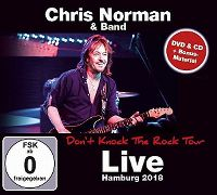 Cover Chris Norman & Band - Don't Knock The Rock Tour 2018 - Live Hamburg 2018