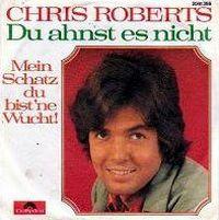Cover Chris Roberts - Du ahnst es nicht