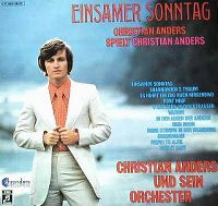 Cover Christian Anders - Einsamer Sonntag