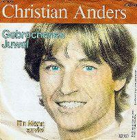 Cover Christian Anders - Gebrochenes Juwel