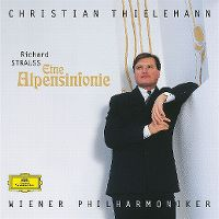 Cover Christian Thielemann / Wiener Philharmoniker - Richard Strauss: Eine Alpensinfonie