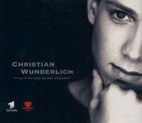 Cover Christian Wunderlich - That's My Way To Say Goodbye