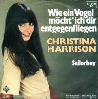 Cover Christina Harrison - Wie ein Vogel möcht' ich Dir entgegenfliegen