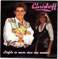 Cover Christoff & Lindsay - Liefde is meer dan een woord