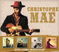 Cover Christophe Maé - Coffret 4 albums