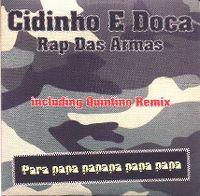 Cover Cidinho e Doca - Rap das armas