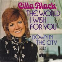 Cover Cilla Black - The World I Wish For You