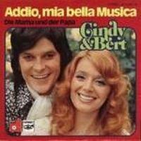 Cover Cindy & Bert - Addio, mia bella Musica