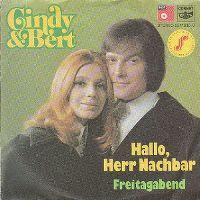 Cover Cindy & Bert - Hallo, Herr Nachbar